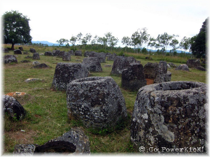 Hmong Legends, Megalithic Jars and Unexploded Ordinances
