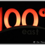 100 Degree East