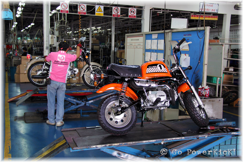 Tiger Motorcycle Factory