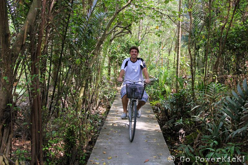 Bike Riding in Bangkok