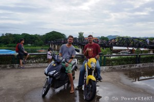 Arrival @ The Bridge Over The River Kwai