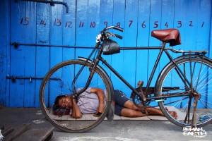 The Human Earth Project - Man & Bike