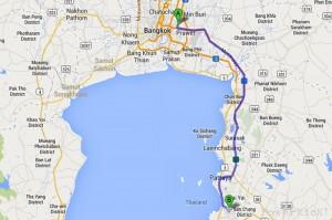 Bangkok to Buddha Mountain