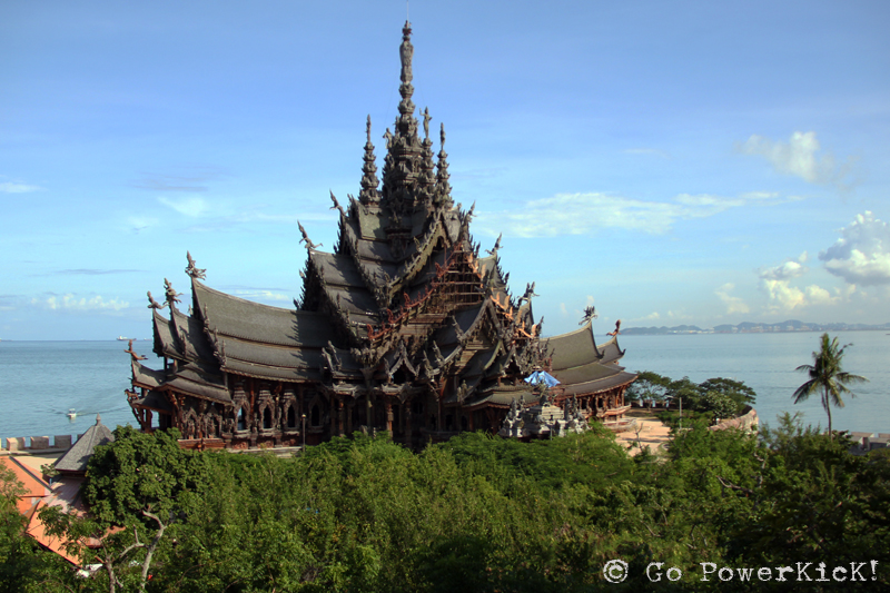 The Sanctuary Of Truth - Go PowerKicK! Travel Journal