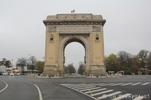 Bucharest Arc de Triumph