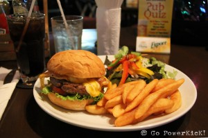 The Jameson Burger