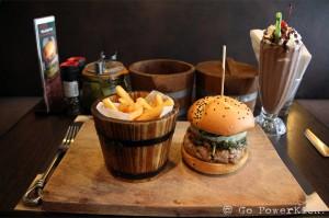 The Pad Krapao Burger