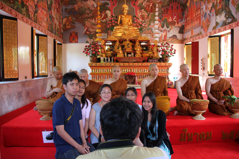 Becoming A Buddhist Monk In Thailand - Go PowerKicK ...