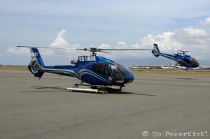 Blue Hawaiian Oahu Helicopter Tour - Take-off