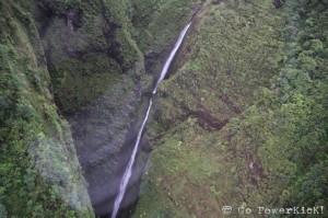 Blue Hawaiian Oahu Helicopter Tour - Sacred Falls